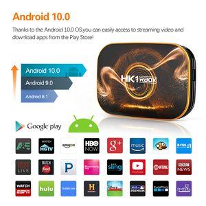 Smart TV Box Android 10.0 HK1 RBOX R1 MAX 4GB RAM 128GB ROM TVBOX 4K Media internet Player USB3.0 Set Top 2G16G Youtube