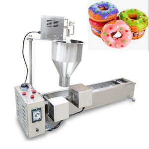 110V 220V Commercial Automatic Donut Making Machine Single Row Auto Doughnut Maker 304 Stainless Steel Auto Donuts 2500W