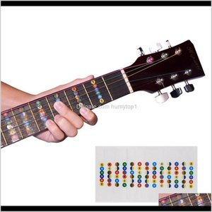 Outdoor Games Activities Guitar Fretboard Notes Map Labels Sticker Fingerboard Fret Decals For 6 String Acoustic Electric Guitarra Ny0 4Xhsr