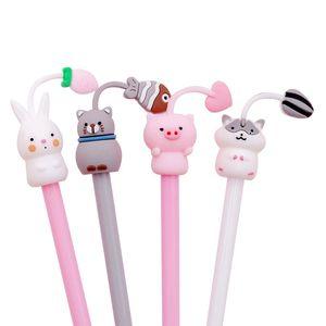 1PCS Creative Tentacles Animal Gel Pen 0.38mm Cute Kawaii Water Pens Cartoon Student Writing Exam Supplies Stationery WLL739