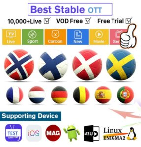 2021 European M3U high clearsupport smart TV, Android , in France, Europe and the United States