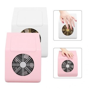Professional Electric Manicure Vacuum Nail Cleaner Extractor Suction Powerful Polishing Dust Collector 40W