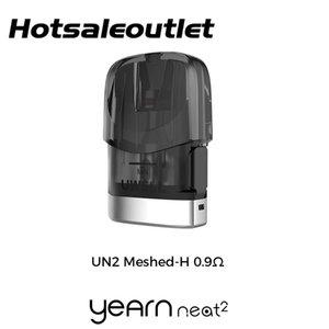 Uwell Yearn Neat 2 Pod Cartridge 2ml Capacity with 0.9ohm Mesh Coil for Uwell Yearn Neat 2 Kit 100% Original