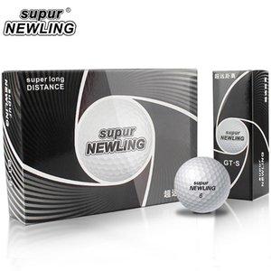골프 공 12pcs / 팩 거리 화이트 1 박스 1 십이 3 조각 슈퍼 라인 소프트 느낌 긴 3 층 80 - 90 패키지