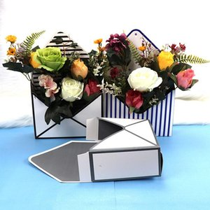2pcs Trend Envelope Flower Box Special Gift Flowers Paper Packaging Festive Party Supplies Arts And Crafts Wrap