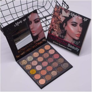 25 Colors Eyeshadow Palette, High Pigmented Makeup Palette Matte And Shimmer Glitter Powder Eyes Shadow, Colorful Waterproof Long Lasting Fall Into Frost Palettes