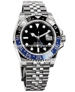 Basel world Swiss Luxury Super N Factory 126710BLNR Ceramic Bezel Automatic Cal.3285 Movement 904L Steel Jubilee Bracelet Gmt 40MM Batman Watches