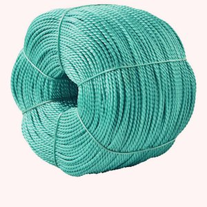 Braided rope nylon rope wear-resistant waterproof anti-drying clothes drying outdoor truck green polyethylene plastic