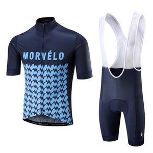 Morvelo equipe homens ciclismo jersey sets mtb bicicleta desgaste racing bicicleta roupas respirável ropa ciclismo bicicleta maillot terno y21040819