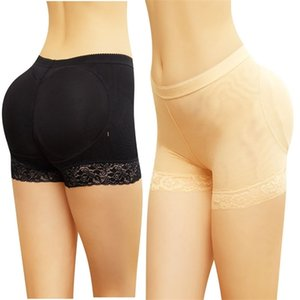 Lace mesh fake lifting underwear women's but lifter cotton mat breathable buttock raising pants body shaping pan9U5J