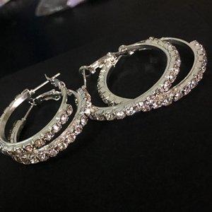 Round Earrings For Women Earring Accessories Korean Ear Rings Earings Fashion Jewelry 2021 Christmas Aretes De Mujer Hoop & Huggie