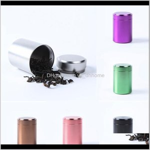Storage Bottles 70Ml Airtight Smell Proof Container Aluminum Stash Metal Sealed Can Jars Boxes Utvcl Riuoc