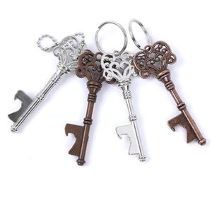 Vintage Keychain Keyring Beer Bottle Opener Coca Can Opening tool with Ring or Chain SN2597