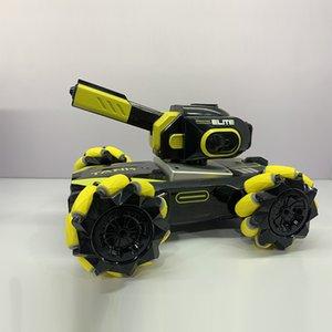 2.4g side stunt remote control car spray water and fog