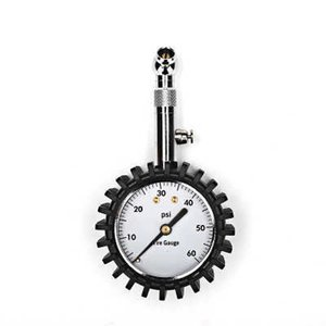 High Accuracy Tire Pressure Gauge Black 100 psi For Accurate Car Air Pressure Tyre Gauge For Car Truck and Motorcycle