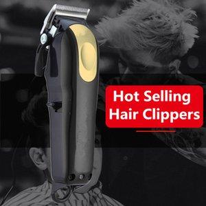 8148 Magic Metal Hair Clipper Electric Razor Men Steel Head Shaver Trimmer Gold Red