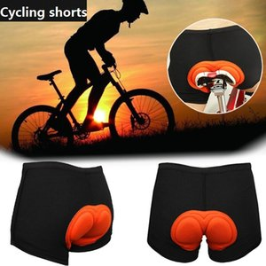 Men Padded Cycling Shorts Motorcycle Bicycle Clothes Breathable Thick Silicone Pad Moisture Wicking Clothing Women Bike Short Underpants