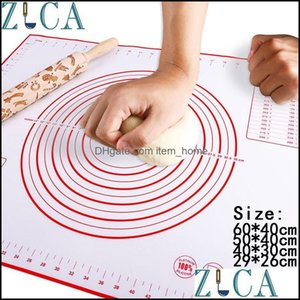 Boards Kitchen, Dining Bar Home Gardensile Baking Mat Non-Stick Pizza Dough Maker Holder Pastry Kitchen Gadgets Cooking Tools Utensils Bakew