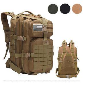 Borse da esterno 50L Grande capacità uomo esercito militare zaini in nylon tattico zaino sport campeggio escursionismo trekking caccia