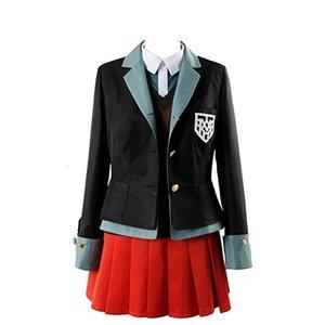 Danganronpa V3 Killing Harmony Yumeno Himiko Cosplay Costume Halloween Suit School Uniform Outfit