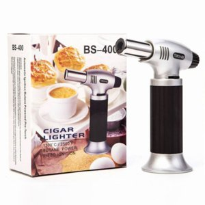 Micro Butane Gas Torch Jet Lighter Creme Brulee Chefs Culinary Blowtorch for Kitchen Tools Cooking Baking Searing Welding Soldering Brazing