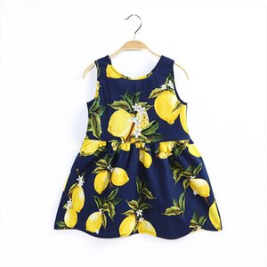 Kids Girls Floral Dress 11 Colors Bohemia Printed Dress Kids Casual Clothes Girls Boho Ruffle Outfits Toddler Infant Baby Clothes 060429