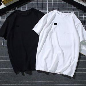 Mens Summer T Shirt Tide Famous Designer Stampa a maniche corte ricamato nero bianco Top 15 stili sciolti maschili e vestiti da donna