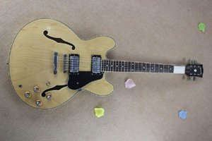 @2 High quality hand made hollow body jazz electric guitar, shipping,Real photo shows