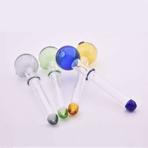 Quality Cigarette Tube Handcraft Pyrex Glass Oil Burner Pipe Mini Smoking Hand Pipes for smoking