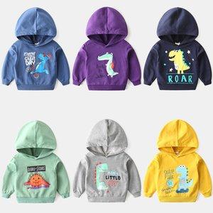 Kids Hoodies for Girls Childrens Dinosaur Sweatshirt Boys Boy Baby Hoodie Children Clothes Clothing Toddler Child Sportswear