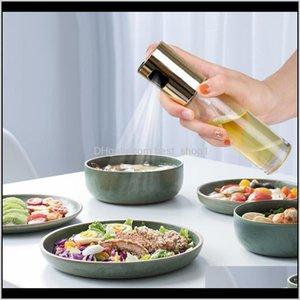 Cooking Utensils 100Pcslot Baking Olive Bottle Oil Vinegar Spray Bottles Water Pump Gravy Boats Bbq Kitchen Tools Salad Zzc2594 E6Xac Fjs1W
