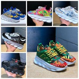 2021 erkek ve kadın antrenör platformu rahat ayakkabılar pembe beyaz üçlü siyah Vers 2.0 Çiçek Açık Sneakers Boyutu 36-45