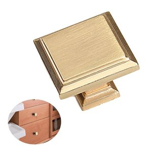 Handles & Pulls Vintage Style  Cabinet Knobs And Drawer Furnitures Cupboard Wardrobe Golden Hardware