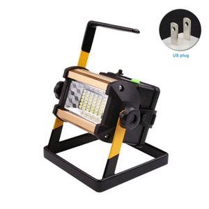 With Charger Work Travel Aluminium Alloy Camping Lamps Decoration Outdoor Floodlight Lightweight Handheld Rechargeable Spotlight Portable La