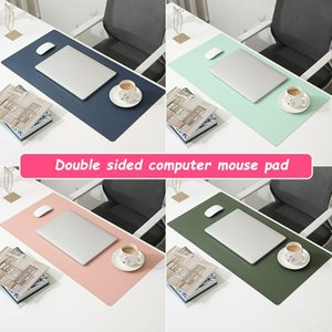 Mouse Pads & Wrist Rests Office Computer Desk Mat Desktop Keyboard Game Accessories Oversized Pad Solid Color Laptop Non-slip Player