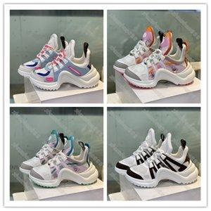 Mulheres estilo clássico Mulheres e Homens Sneaker Fashion Sapatos Casuais para Mulher Treinadores Andar Sapatilhas Mais Cor tamanho 35-45