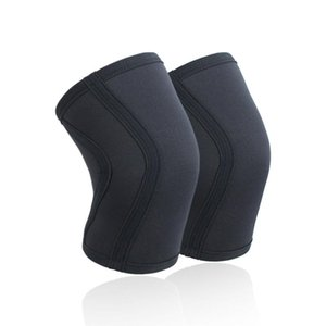 Elbow & Knee Pads 1 Pair Squat 7mm Sleeves Pad Support Men Women Gym Sports Compression Neoprene Protector For CrossFit Weightlifting