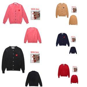 Maglia da donna maglione amore cardigan coppia indossare lavorato a maglia autunno e giacca invernale allentato casual di alta qualità tees 0101