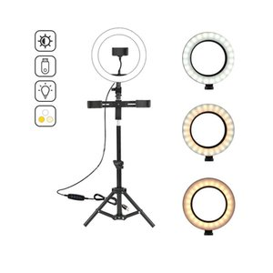 Tik Tok TikTok Live Lamp Phone Stand Holder Supply Dimmable Selfie Ring Light With Adjusted Tripod LED For Liv Flashes