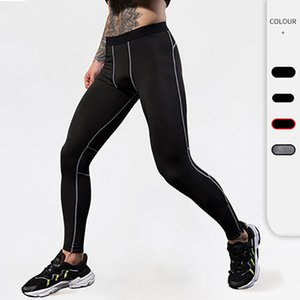 Running Pants Men Compression Fitness Quick Dry Sweat Tights Training Workout Joggng Gym Leggings Yoga Sportswear Trousers