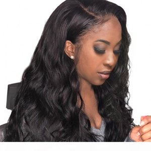 Peruvian Hair Wig Natural Color Unprocessed Body Wave Human Hair Wig Lace Front Wigs Pre Plucked Hairline