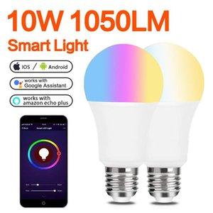 WiFi Led Bulb Alexa Smart RGB Color Changing Light Bulbs E27 E26 2700K-6500K Dimmable Magic Work With Google Home Echo
