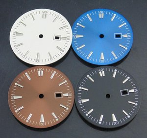 Wristwatches Bliger 1 Pcs 35mm Watch Dial Fit Miyota 8205 8215 821A,Mingzhu 2813 3804,eta 2836 2824 Movement Case Black Round