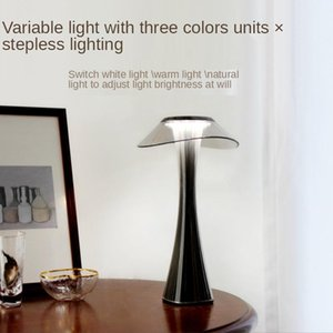 Table Lamps Creative Small Waist Lamp Simple And Fashionable Eye Protection Charging Touch Stepless Dimming Smart