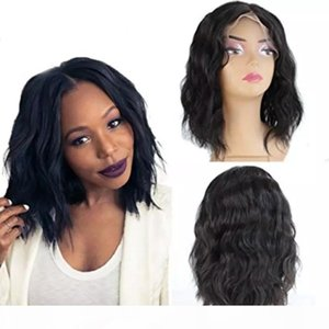 360 Full Lace Human Hair Bob Wig Cheap Pre Plucked Glueless Virgin Brazilian Virgin Hair Body Wave Short Bob Wigs For Black Women