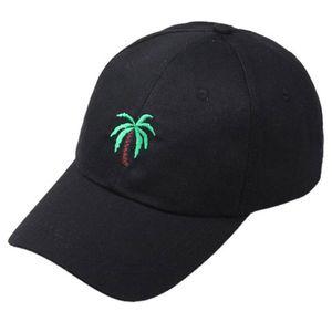 Sombrero béisbolcap verano al aire libre palmera impreso visor béisbol gorra béisbol casquette baseballowa de ajustable czapka unisex tscuu