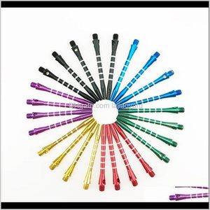 2BA liga de alumínio médio dardos de dardos grade Dart stems lendo comprimento 5m 6 cores disponíveis ny094 8c2lw naitu