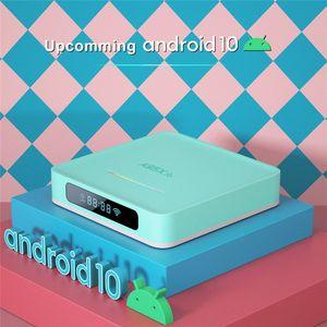 A95X R5 TV Set Top box Quad-core CPU 4K Resolution Wifi Network Media Player 4G+128G US Plug Bluetooth 4.0