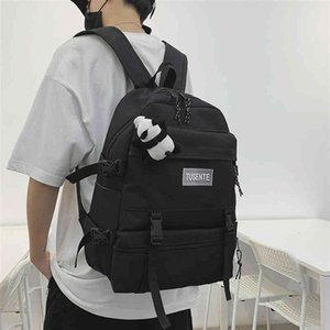 2020 New backpack Men Middle School backpack For boys Great Capacity Campus Schooltas Male Student Laptop Back Pack Japanese5686