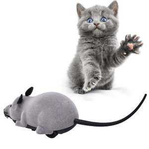 Cat Toy Wireless Remote Control Mouse Electronic RC Mice Pets For Kids Toys AB